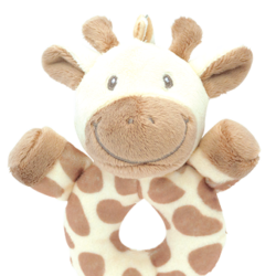 My Giraffe Creme, rund rangle